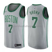 Maglie NBA Boston Celtics 2018 Canotte Jaylen Brown 7# City Edition..